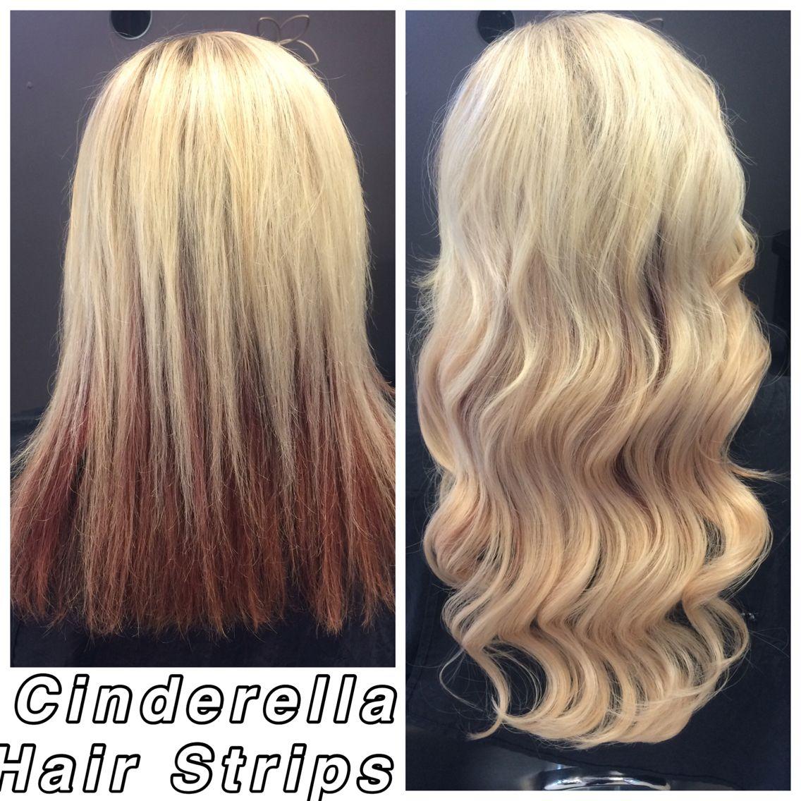 Cinderella Hair Strips