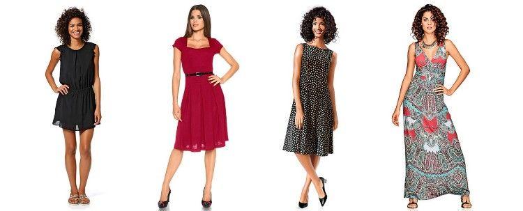 Traumhafte Kleider In Ihrem Mode Shop Heine Summer Dresses Online Mini Dresses Summer Summer Dresses Knee Length