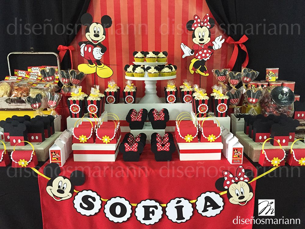 Mesa mickey minnie mouse minnie mouse pinterest - Fiesta tematica mickey mouse ...
