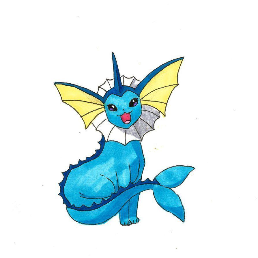 Aquali By Ondine25 On Deviantart Drawings Pokemon Art