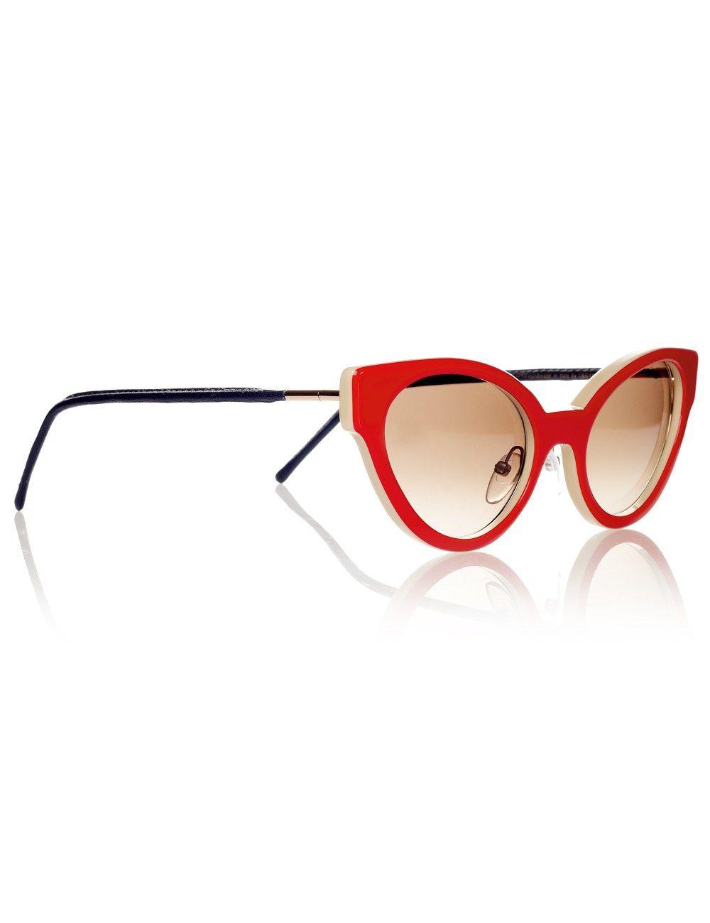 627e1fba4e Red Cat Eye Sunglasses Cutler and Gross