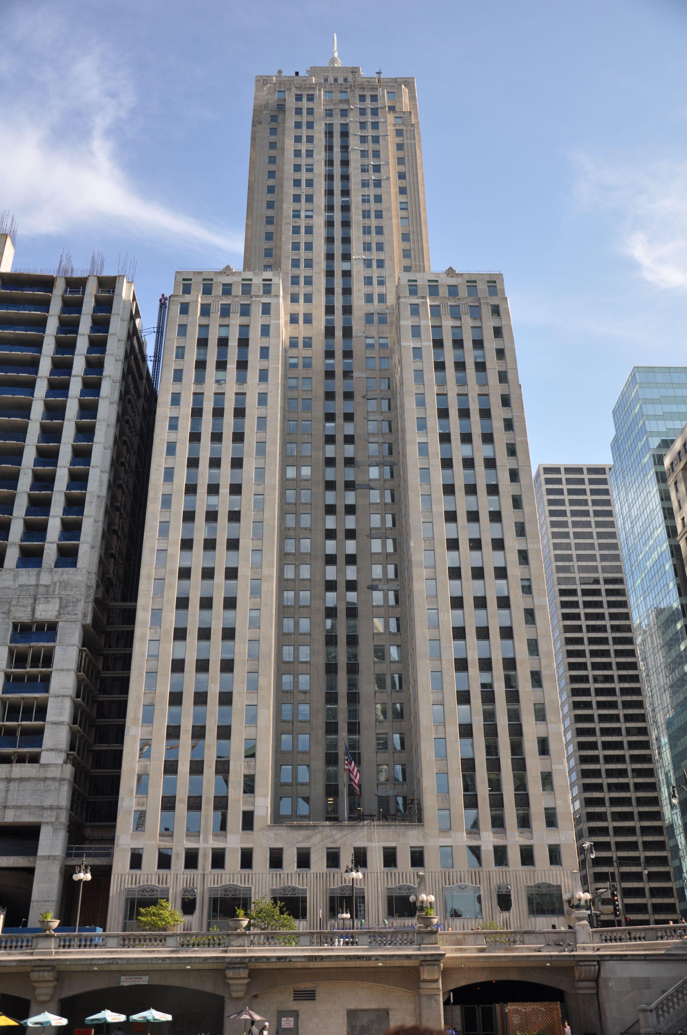 Lasalle Wacker Building Architect Holabird Root Associate