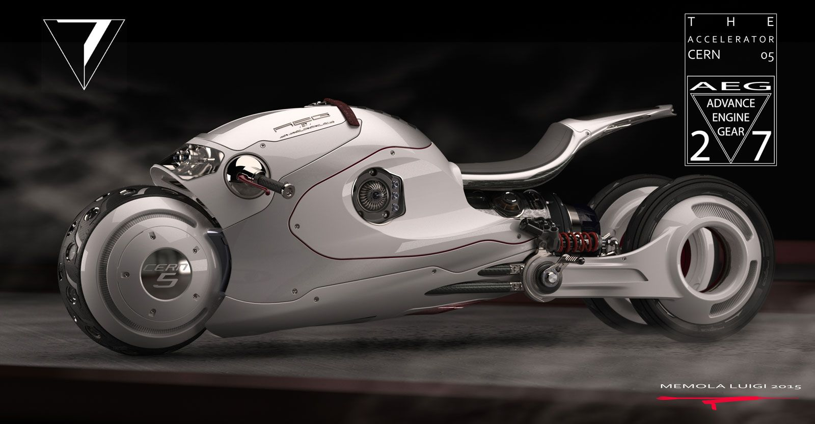 a938eec5a881 Cern 05 project is a futuristic race with jet-powered bikes - Car Body  Design