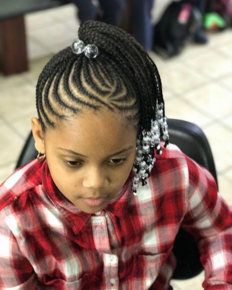Children S Braids Black Hairstyles 2018 Little Girl Braids Kids