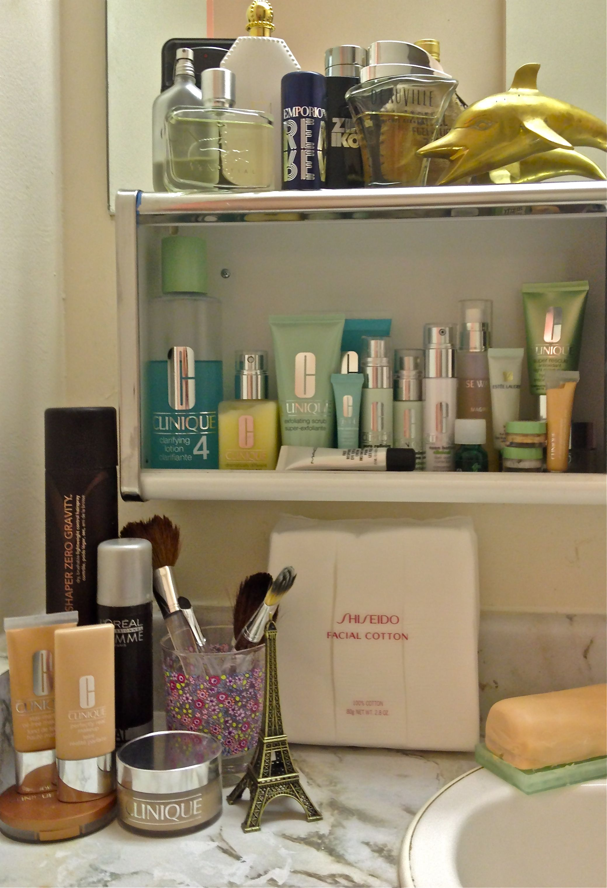 Take A Peak Inside My Beauty Cabinet #Clinique #Mac #Makeup