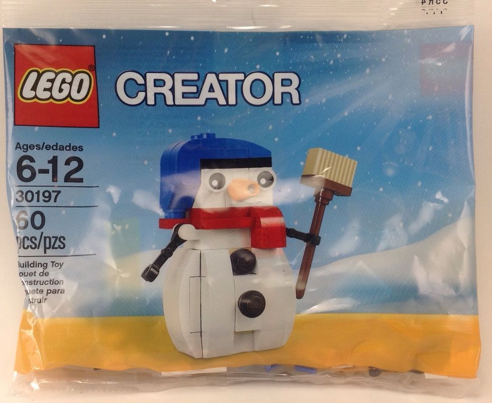 in Unopened Polybag Snowman Lego Creator 30197 - NEW