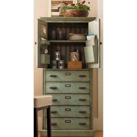 Universal Furniture Down Home Paula's Kitchen Organizer Cabinet