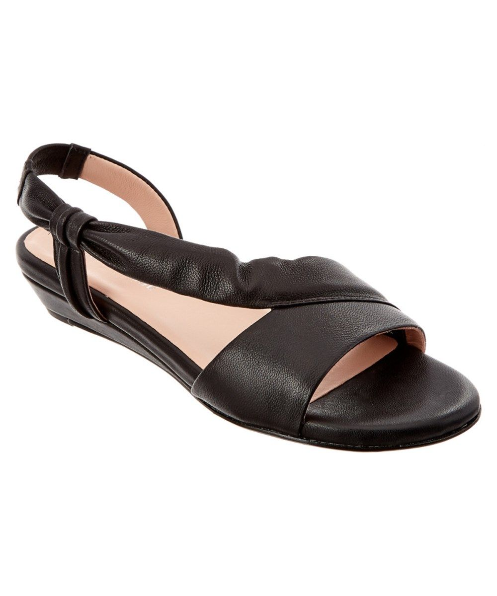7b963c05233 TARYN ROSE Taryn Rose Ion Leather Demi-Wedge Sandal .  tarynrose  shoes   sandals