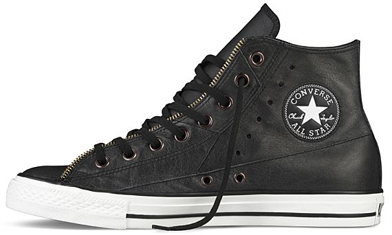 6808445dbee04 CONVERSE Chuck Taylor All Star Hi   Ox – Motocycle Leather Jacket ...