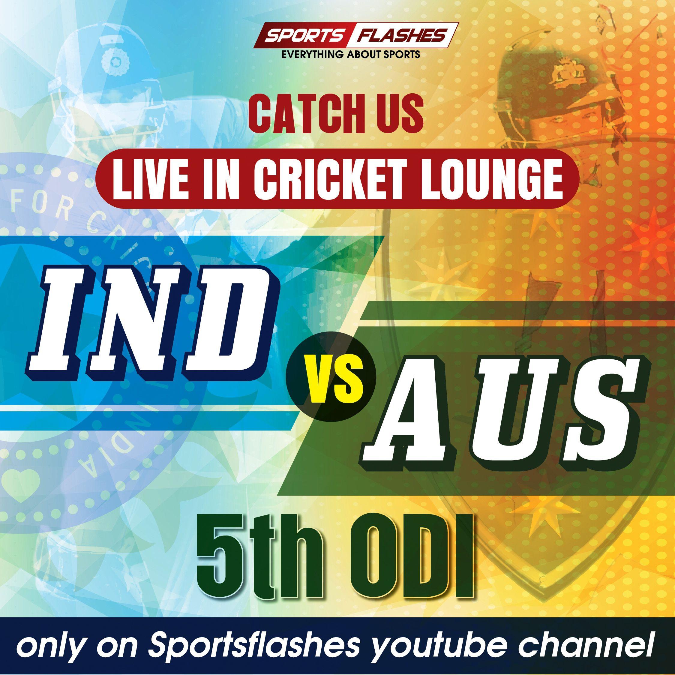 Catch Us Live In Ind Vs Aus 5thodi Only On Youtube Sportsflashes Indvaus Sheffieldshield Teamindia 5thodi D Sport Radio Hockey World Cup Radio Channels