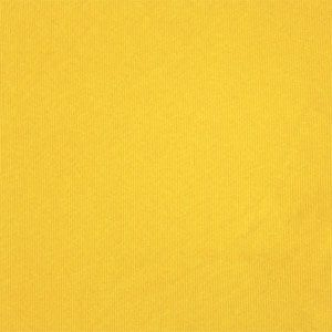 Sunny Yellow Cotton Spandex Rib Knit Fabric
