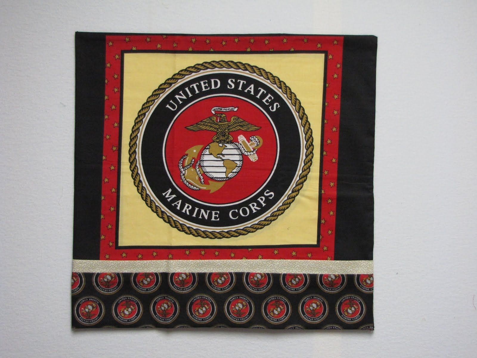 Marine Quilts Of Valor The BunkHouse Purple Heart Quilt