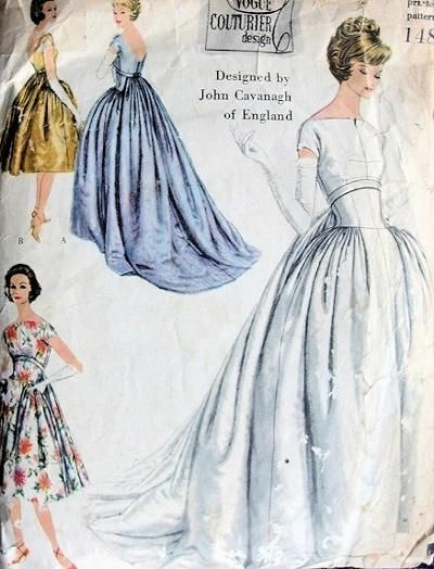 Vogue 148 | Vintage sewing patterns, Sewing patterns and Patterns