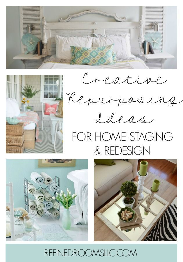 Creative Repurposing Ideas for Home Staging and Redesign ...