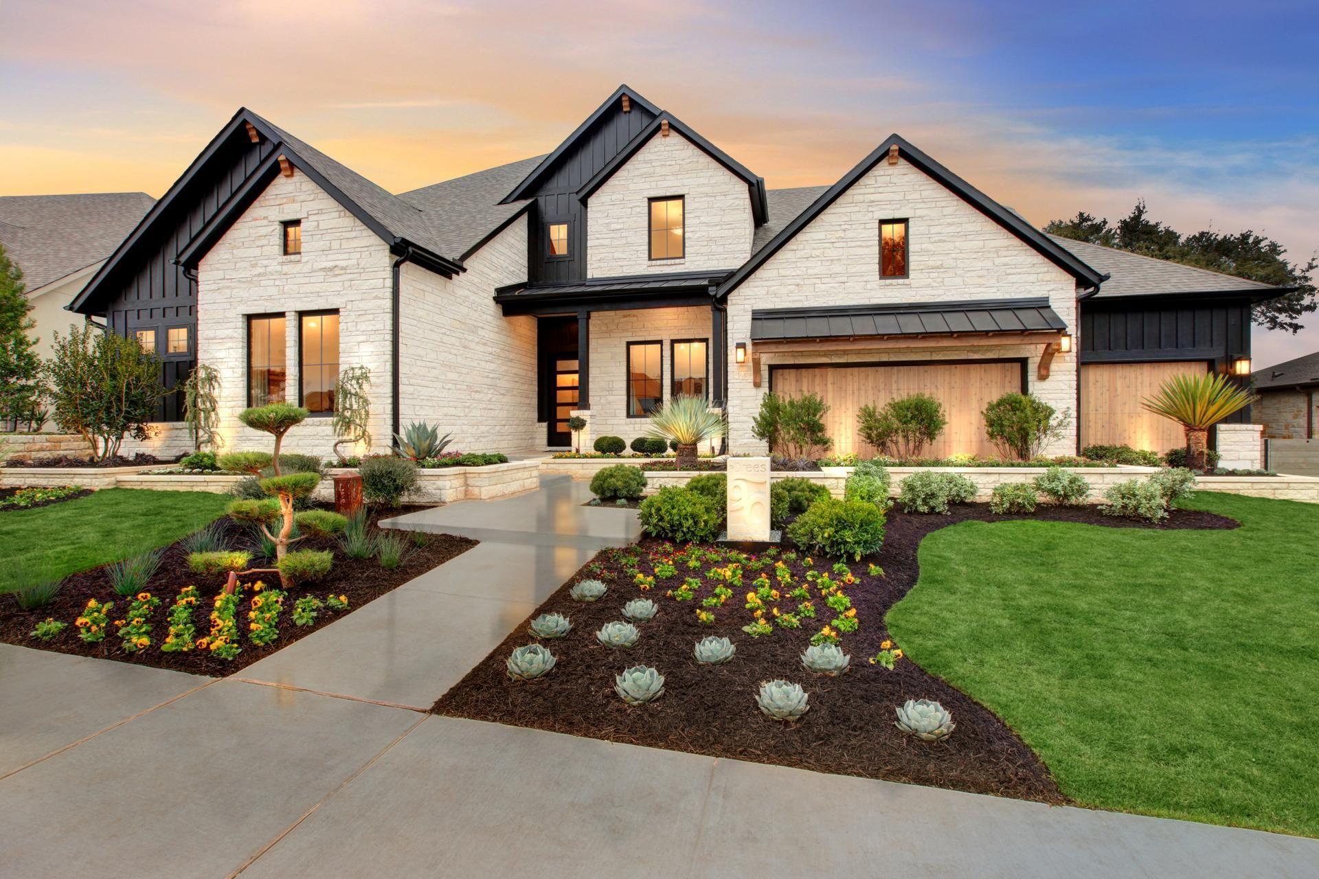 The Grantley G Exterior Modern Farmhouse Exterior Farmhouse Exterior House Styles
