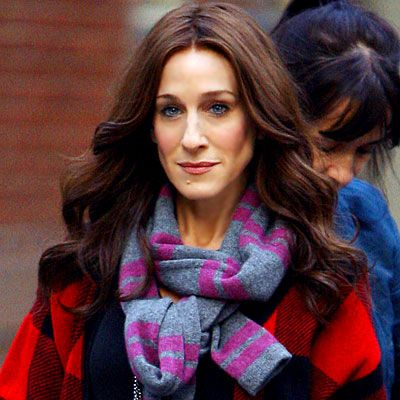 Sarah Jessica Parker Auburn -don't like , washes her out