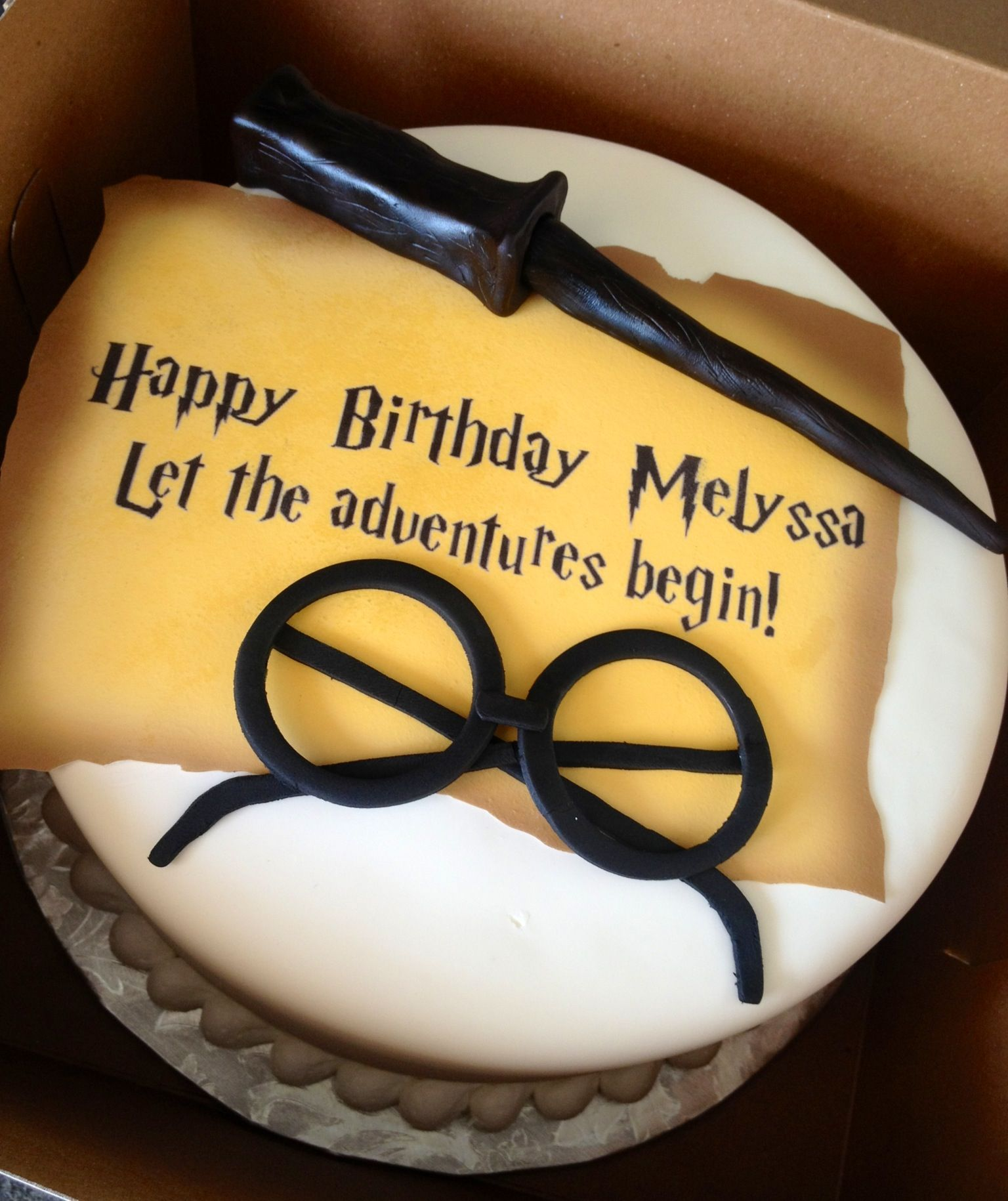 Harry Potter Birthday Cake Annacakes Com
