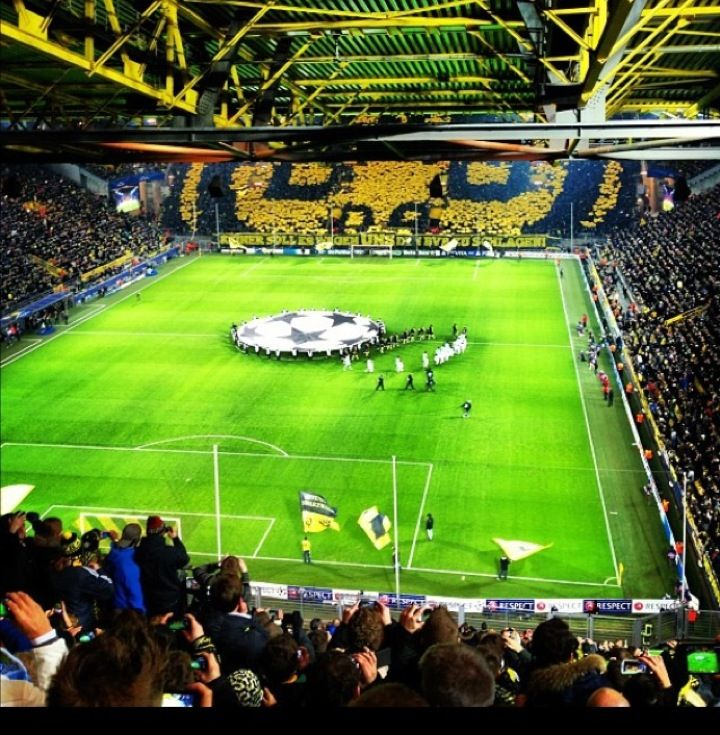 Signal Iduna Park Soccer Club Park Dortmund