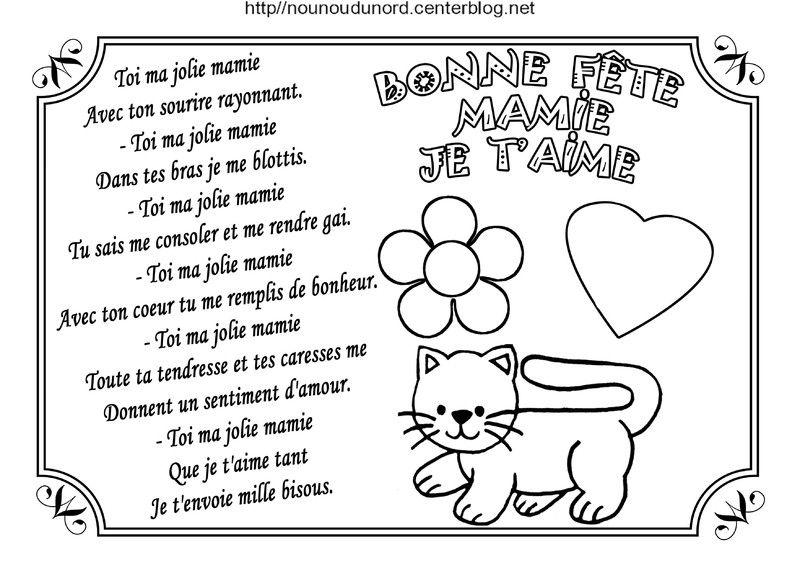 Poeme Pour Mamie Anniversaire