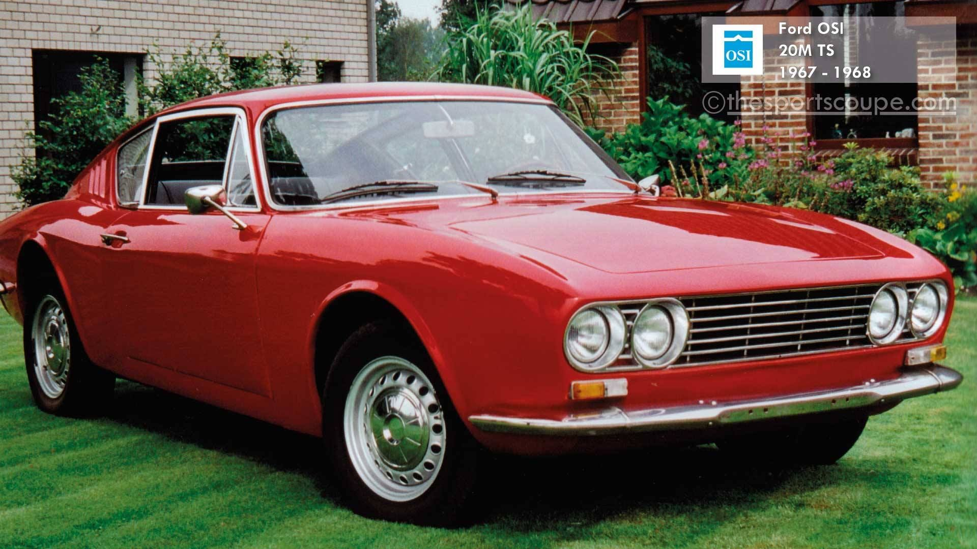 Ford Osi 20m Ts Taunus P7 1967 1968 Classic Cars Spotted In The