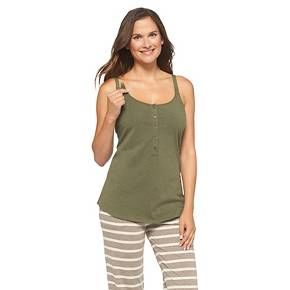 8eba014b216ba Women's Nursing Henley Cami - Gilligan & O'Malley™ Dark Heather XL ...