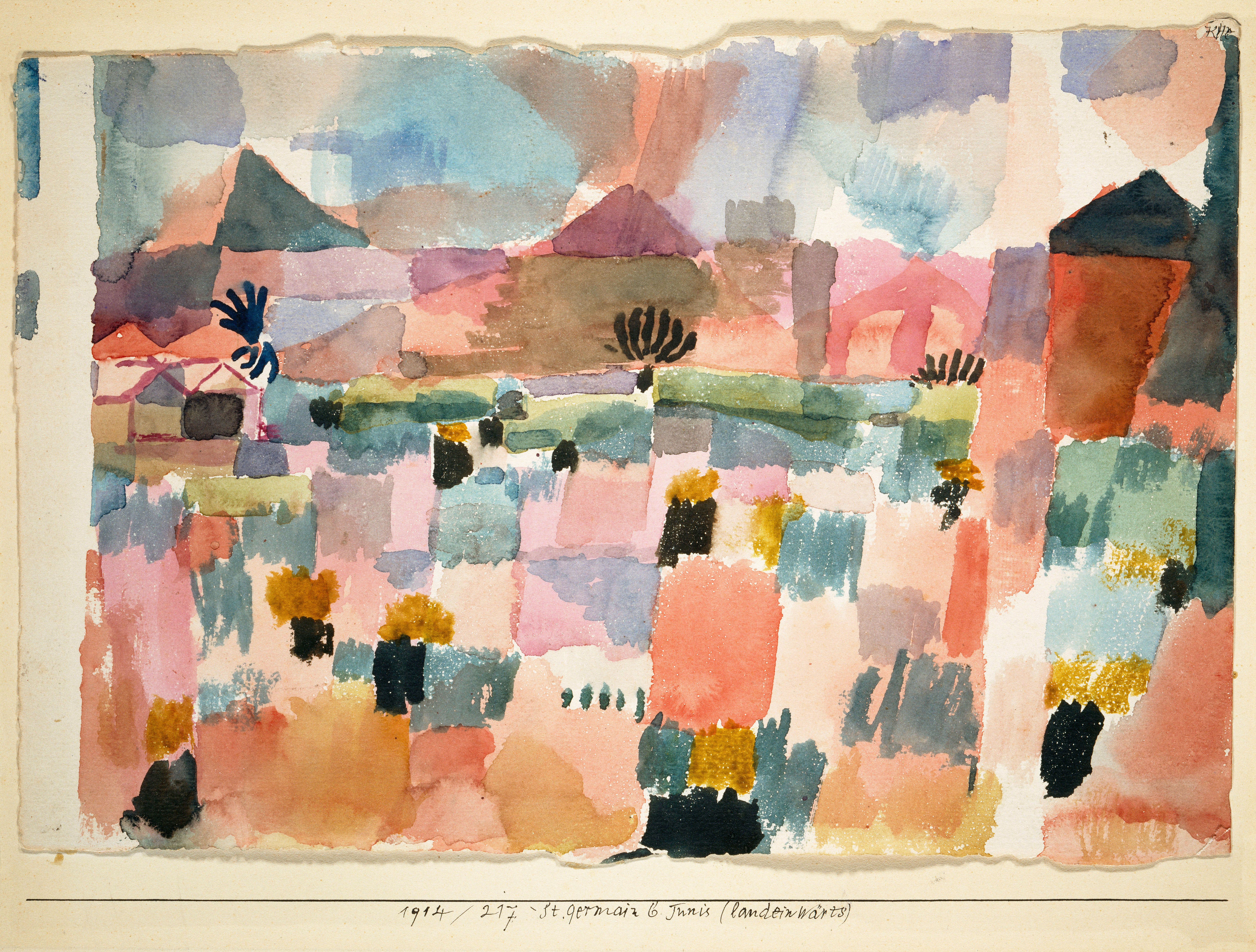 The Trip To Tunisia That Changed Modern Art Paul Klee Livre D
