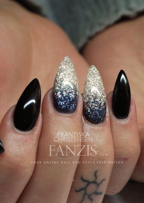 Pinterestlrehman2k4 nails pinterest nail nail inspiring image black gel nails sparkling gelnails by resolution find the image to your taste prinsesfo Choice Image
