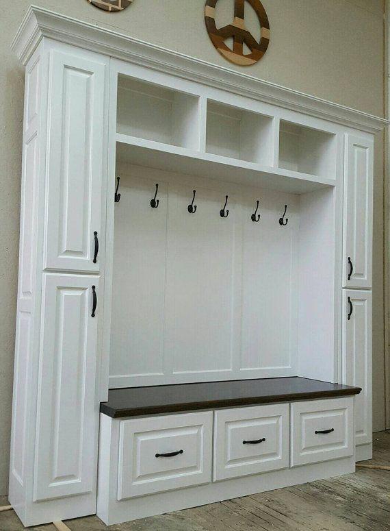 84 Mudroom Lockers Bench Storage Furniture By SpeckCustomWoodwork