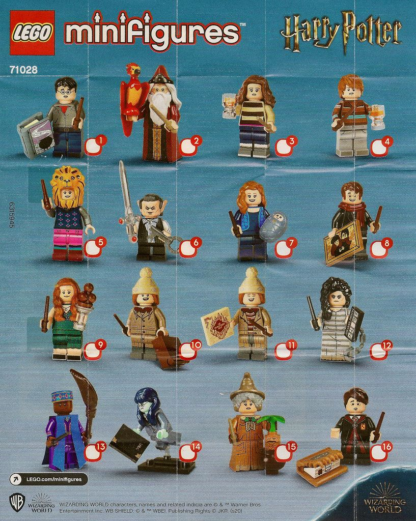 Lego Collectable Minifigures Series Harry Potter Series 2 71028 Https Www Flickr C Lego Harry Potter Minifigures Harry Potter Lego Sets Harry Potter Toys