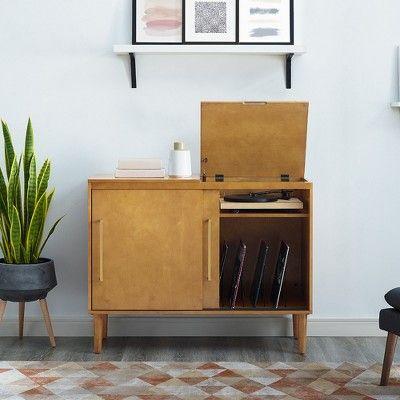 Everett Media Console Brown Crosley In 2019 Furniture