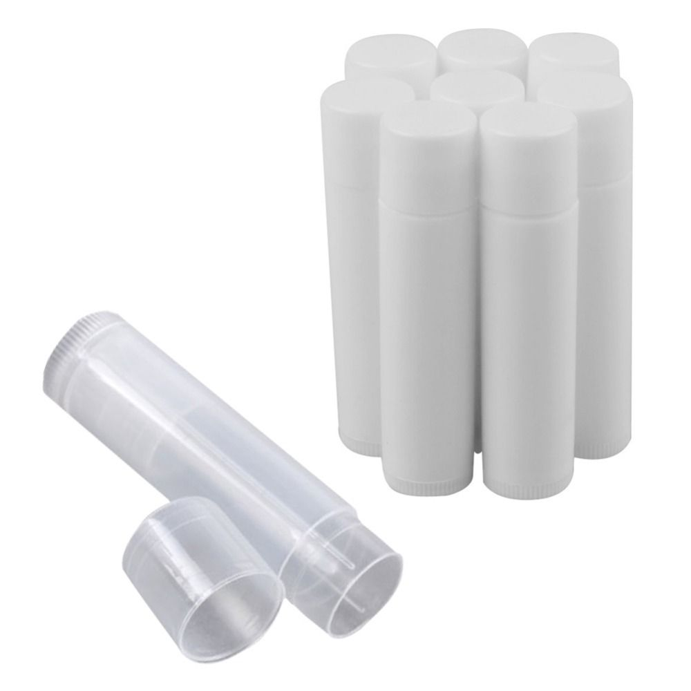 https://www.i-sabuy.com/ 50pcs/Lot Empty Plastic Clear LIP BALM Tubes Containers Lipstick Fashion Cool Lip Tubes HB88