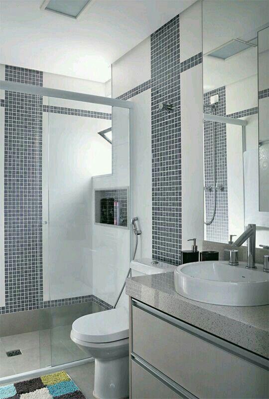 GroBartig Badezimmer, Rund Ums Haus, Runde, Kleine Badezimmer Design, Modernes  Badezimmerdesign, Kleine Bäder, Dekoideen Für Die Wohnung, Brooklyn,  Toiletten