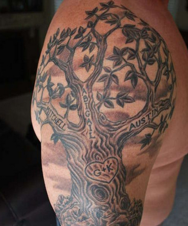 Family Tree Tattoo Ideas For Men And Women Tree tattoo