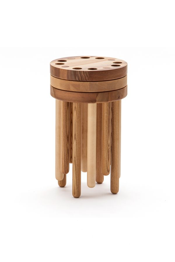 Poke Kyuhyung Cho Aa13 Blog Inspiration Design Architecture Photographie Art Petite Chaise En Bois Tabouret Bois Tabouret