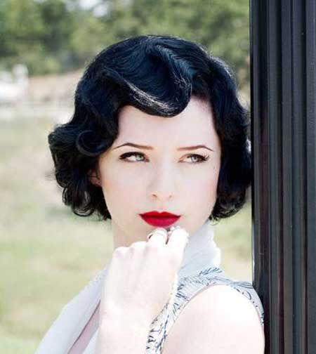 Vintage Hairstyles Short Hair in 2018 | Vintage AF | Pinterest ...