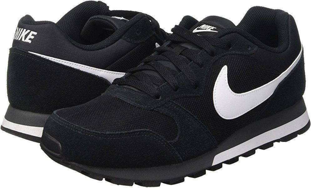 Noir Homme Black Multisport Chaussures Outdoor Runner 2 Nike Md qIxO7gwn