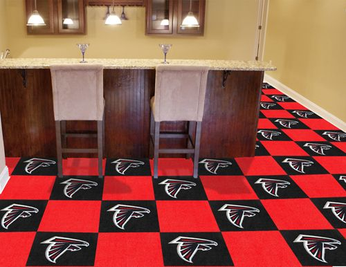Check Out These Awesome Atlanta Falcons Carpet Tiles Are The Ultimate In Sports Flooring It S Perfect For Your Atlanta Fa Carpet Tiles Rugs On Carpet Tile Rug