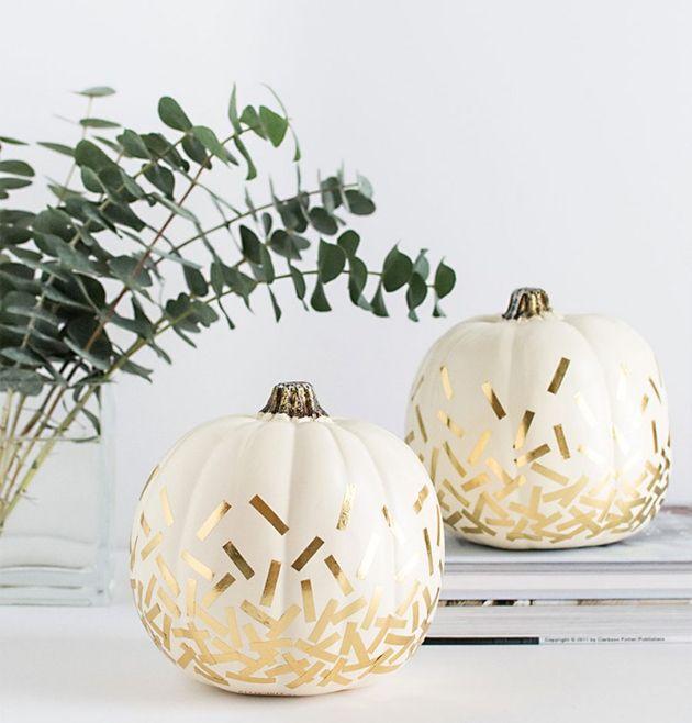 This pumpkin\'s got style | Pumpkin ideas and Halloween ideas
