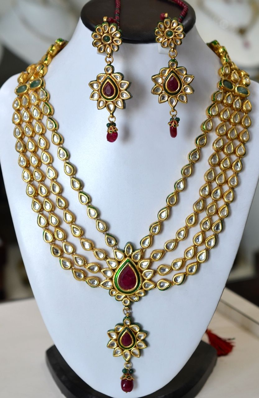 Pin By Chandru On Architecture: Pin On Ethnic Jewellery Pieces~Board 1