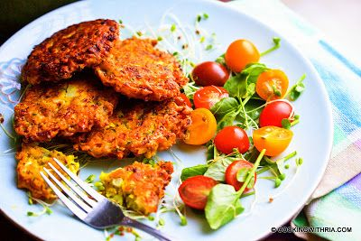 Cooking with Ria: Ria's Cauliflower Fritter