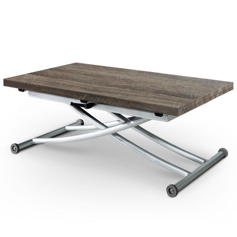 Table Design bois relevable Ilona basse vintageMeubles en OXiuPkTZ