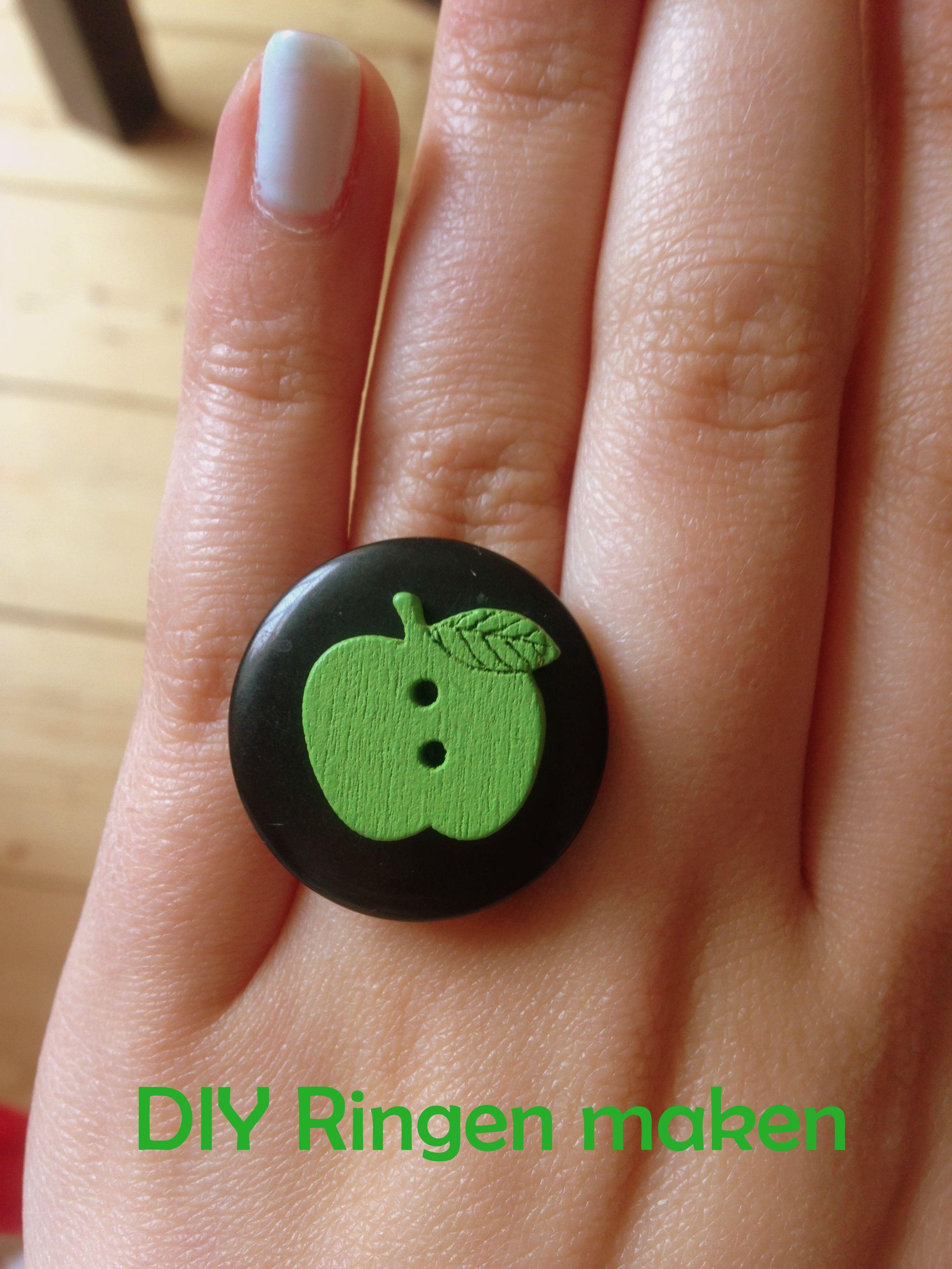 Nieuw DIY Ringen maken | Ring maken, Zelf ringen maken, Diy ringen JR-29