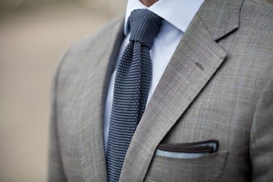 grey suit navy shirt and tie i really like the subtle blue lines