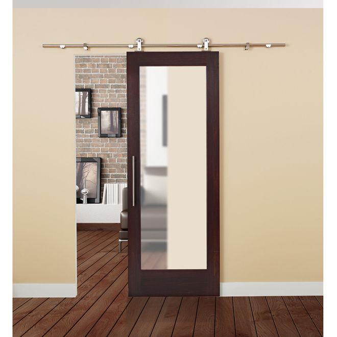Space Saver For The Micro Bathroom Sliding Door Rail, Metal Furniture,  Space Saver,