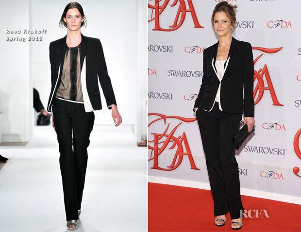 Kyra Sedgwick In Reed Krakoff - 2012 CFDA Fashion Awards