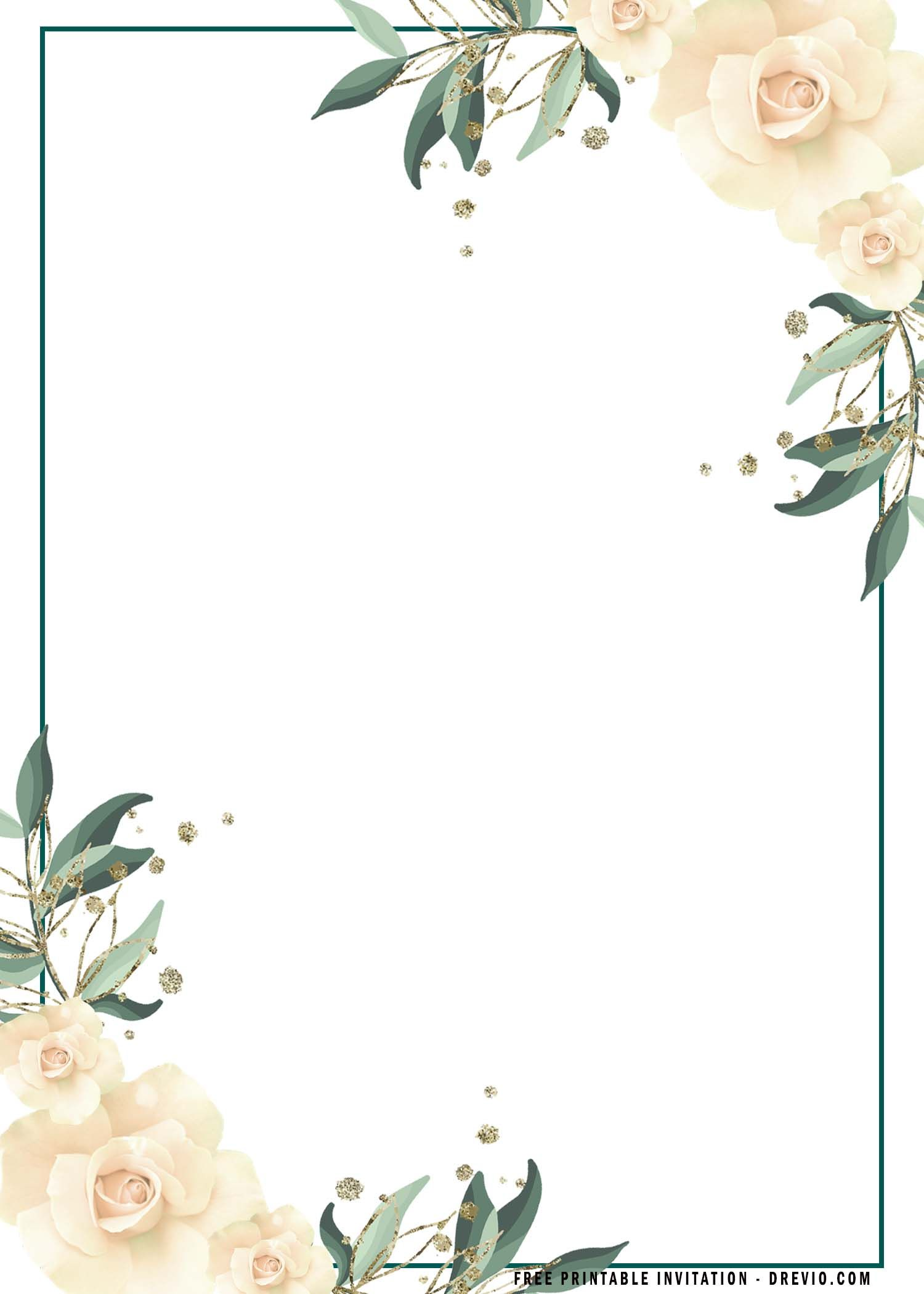 Free Printable Boho Flower Invitation Templates In 2021 Party Invite Template Floral Invitations Template Floral Birthday Invitations