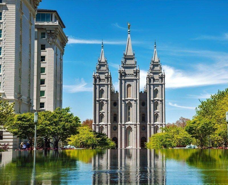 Mormon Temple Salt Lake City Utah Available Only For External Observation Tempest Places To Visitsalt