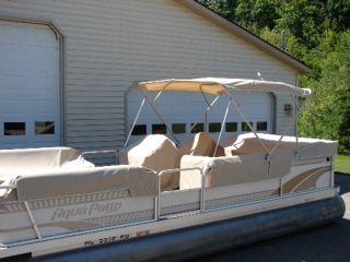 Bimini Top With Pontoon Seat Coverings Pontoon Seats Outdoor Bed Pontoon