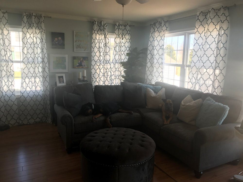 Image result for kailyn lowry living room curtains
