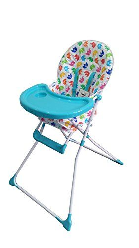 Elephant High Chair Foldable Floor Singapore Cute Baby Ellis The Blue Kids